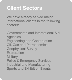 Client Sectors